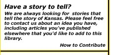 Eye on Kansas Magazine send us a story link  Image